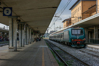 Push-pull train in Pisa