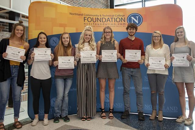 2018 TRF Fall Scholarship Ceremony