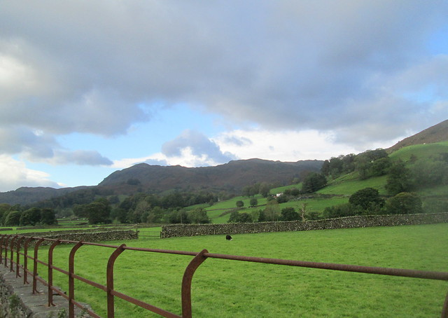 hills outside Grasmere