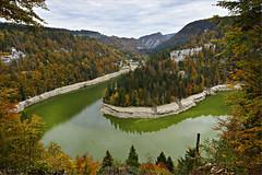 Doubs, Saut du Doubs - Hufeisen