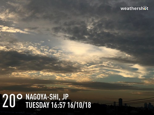 😬☁️ 20°C #Nagoya-Shi #weathershot