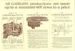 Garrard Super Gramophone Motorb