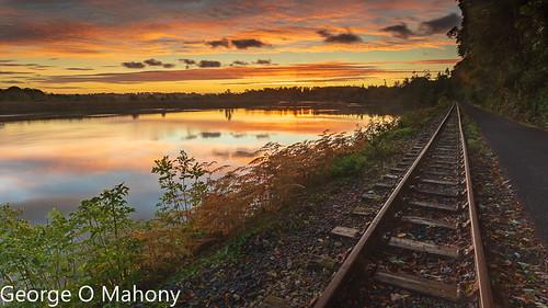 Waterford Greenway Autumn Sunrise