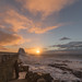 Stormy Porthcawl pier sunrise by Tim Bow Photography