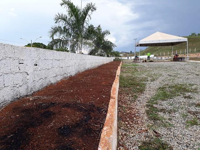 Prefeitura realiza obras de revitalização do cemitério de Santo Antônio do Descoberto