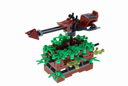 LEGO Speeder Bike Kinetic Sculpture