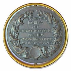 1936 Venice Film Festival Award Medal obverse