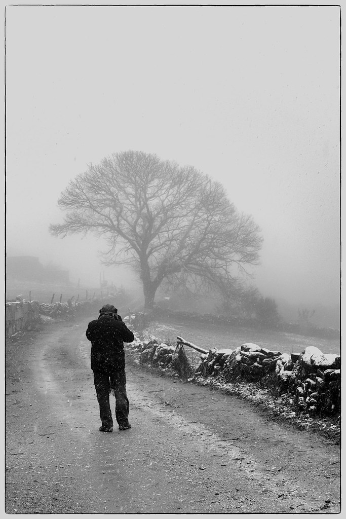 Fotógrafos em dia de nevada - Barroso (4)