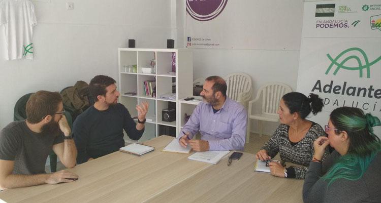 Adelante Andalucía recoge propuestas para mejorar la movilidad y el medio ambiente en la comarca