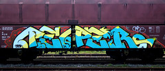 graffiti on freights