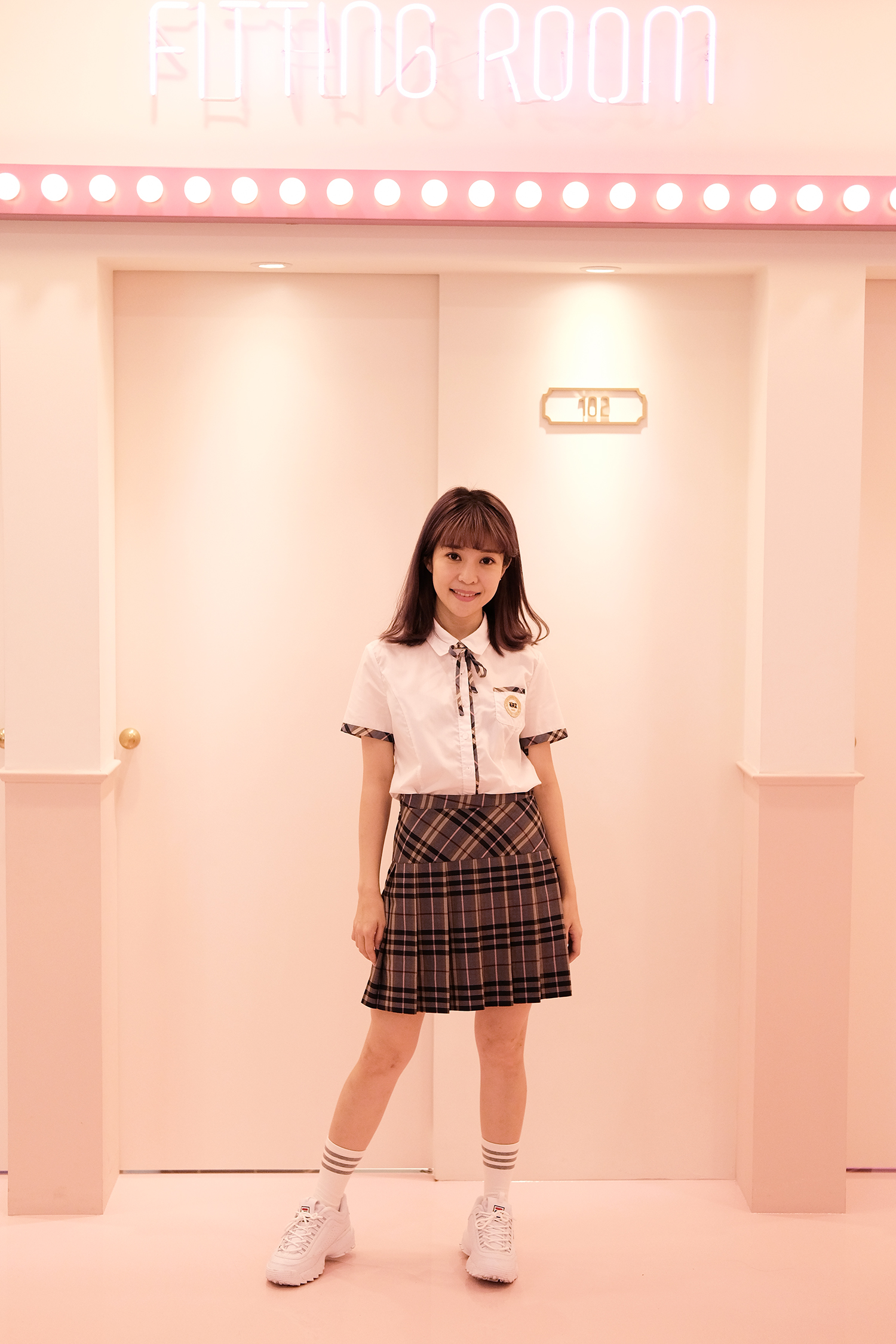 Korean_School_Uniform_Rental_Ehwa_Gyobok_Seoul_Korea_1