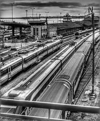 Trains at St. Apolónia, Lisboa