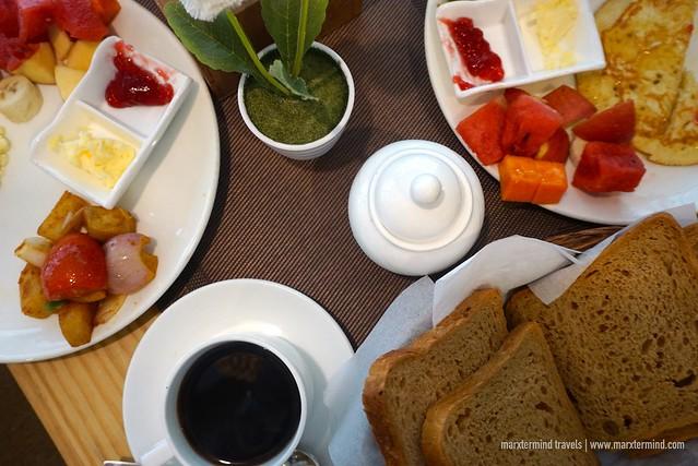 Breakfast at Bodhi Boutique Hotel Kathmandu