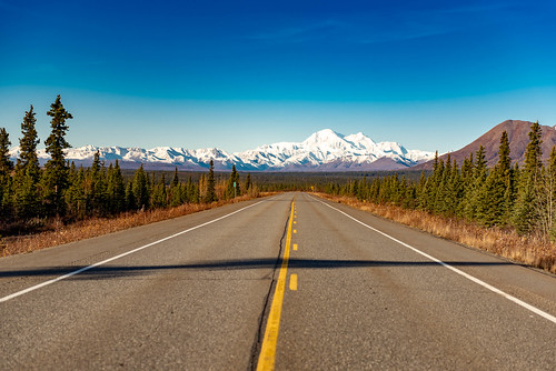 Alaska - Parks Highway and Denali