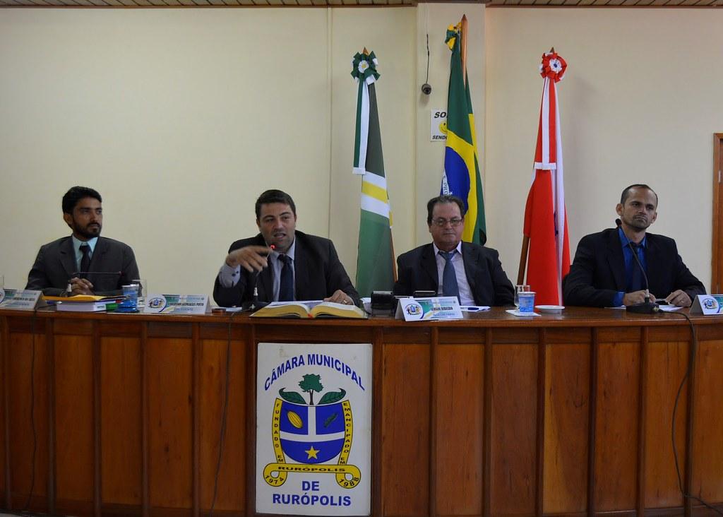 Câmara de Rurópolis reelege Anderson Guimarães para presidência da Casa , camara de ruropolis