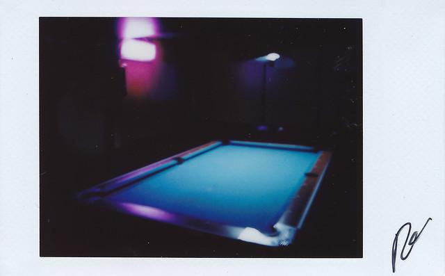 La mesa de billar