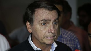 Far-right front-runner in Brazil's elections, Jair Bolsonaro is infamously known for his extreme - Créditos: Fernando Frazão/Agência Brasil