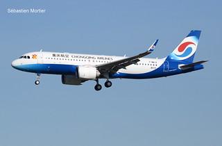 320.251-NEOCHONGQING AIRLINES F-WWIZ 8419 TOB-302L 23 10 18 TLS