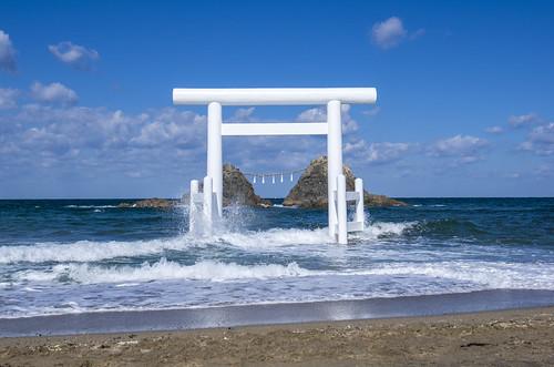Shrine in the Sea