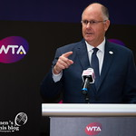 WTA CEO Steve Simon