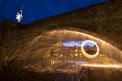 Lightpainting at Villefranche