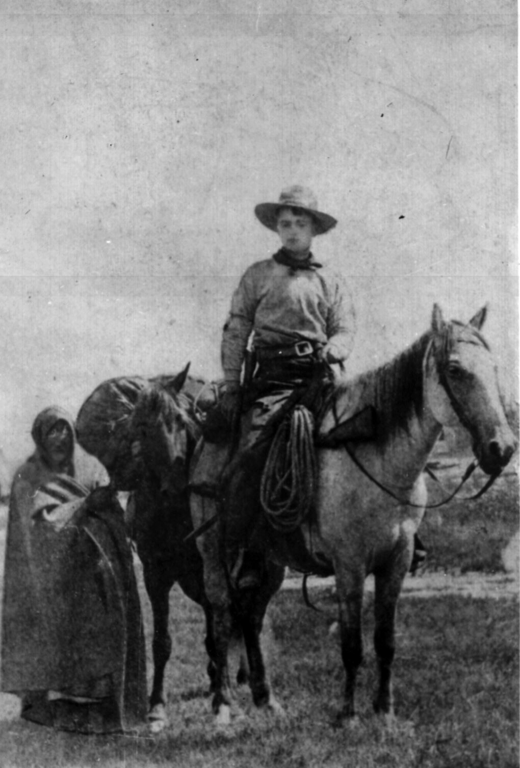 Pony Express rider Frank E. Webner, circa 1861. Photo from U.S. National Archives & Records Administration
