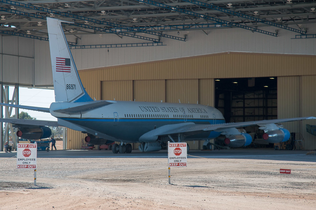 Another old Air Force One Plane at the Museum