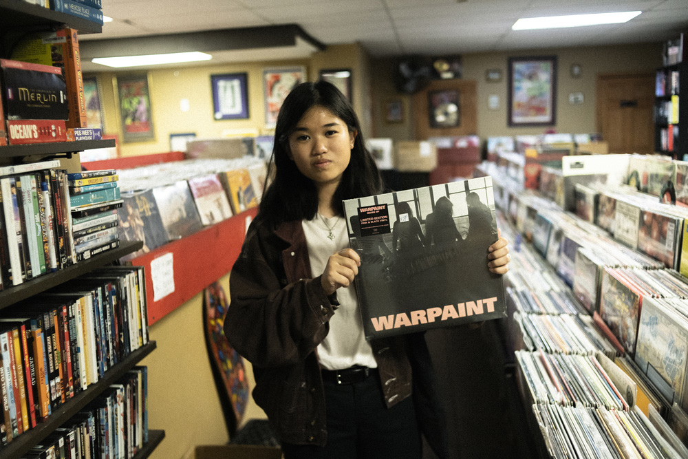 Record Shopping with Hana Vu at Long in the Tooth
