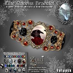 FatPack Zuri's Elite Raven Series Bracelet  P-Mesh