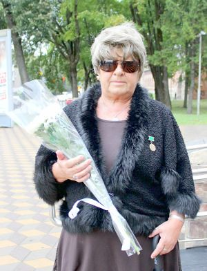 Нина Чугунова, Почетный член Всероссийского общества инвалидов