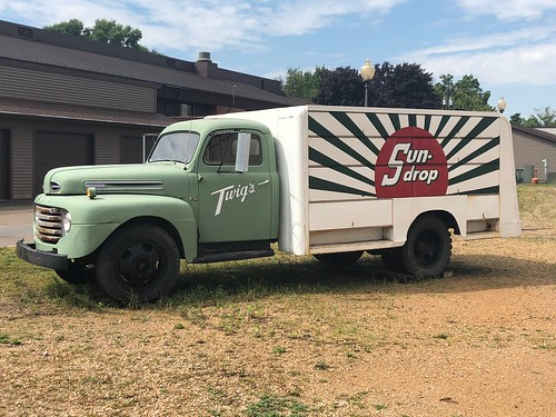 Sun Drop Delivery Truck