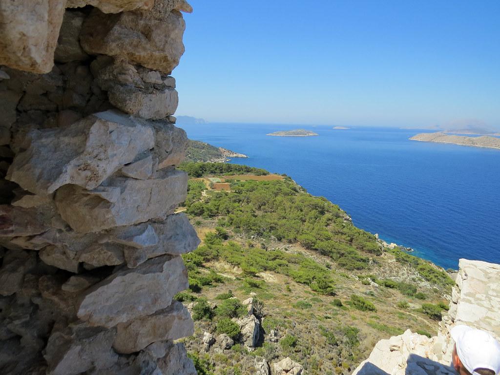 Вид на остров Стронгили