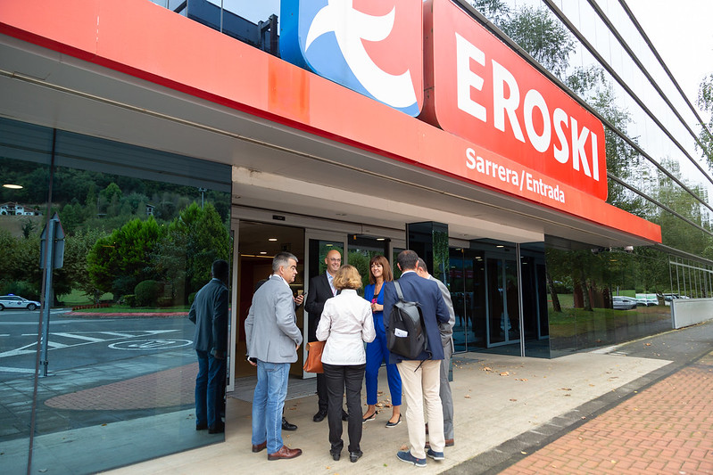 Visita a Eroski