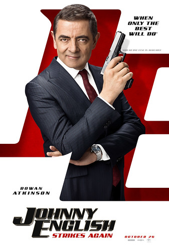 Johnny English 3. Cartel de la película.