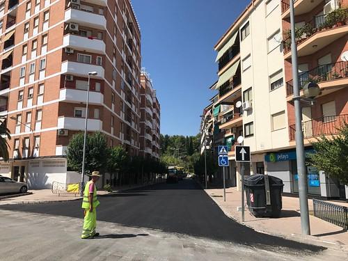 Asfaltado calle Miraflores