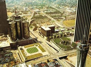 Los Angeles, California - 1976 Aerial Photo by Robert Cameron