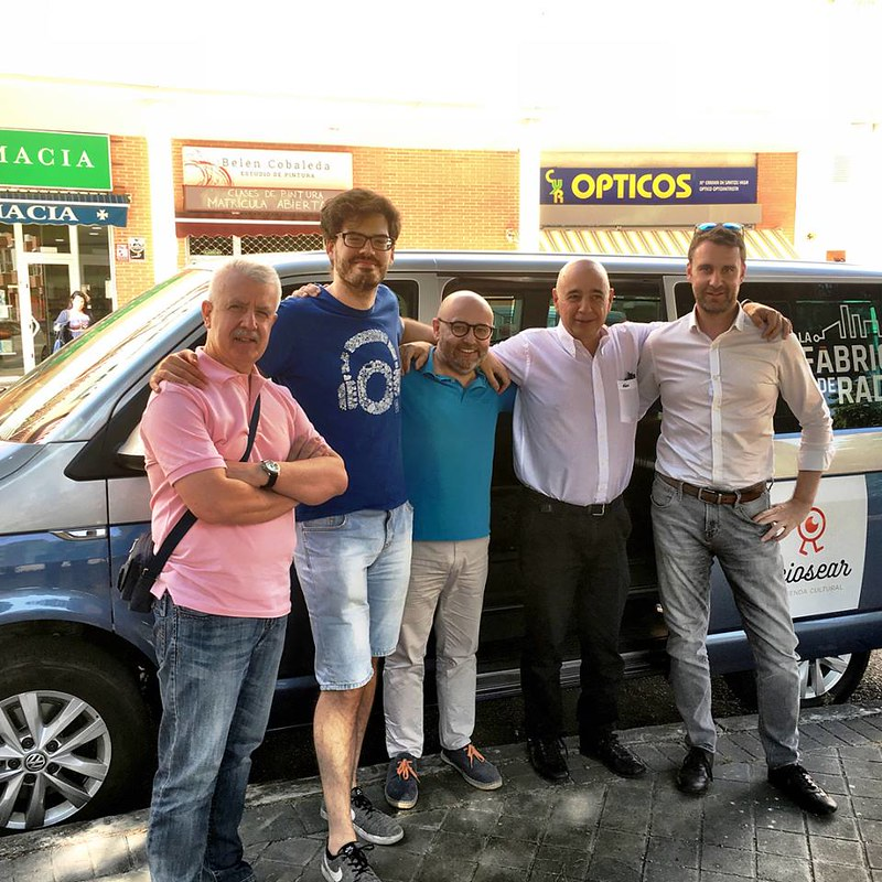 La Fábrica de Radio en Madrid Julio 2018