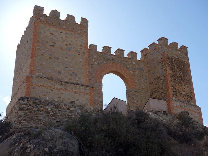 Puerta Castillo de Tabernas