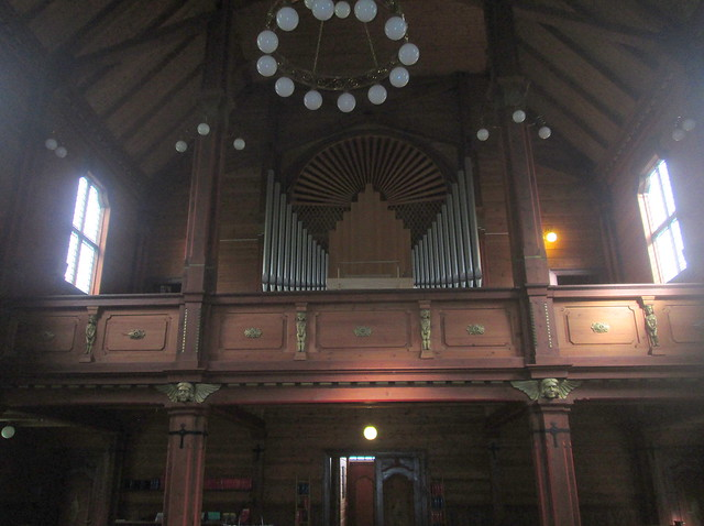 Organ Loft, Olden Church, Olden, Norway