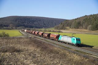 D Crossrail 185 607-9  Harrbach 22-02-2018