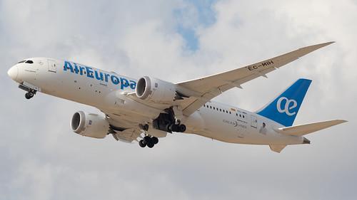 "TLV - Air Europa Boeing 787-8 EC-MIH ""Julio Iglesias"""
