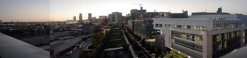 Birmingham Eastside Panorama