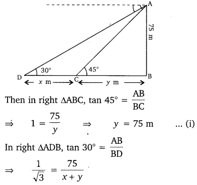 NCERT Solutions for Class 10 Maths Chapter 9 Some Applications of Trigonometry 19