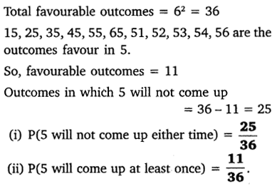 NCERT Solutions for Class 10 Maths Chapter 15 Probability 18