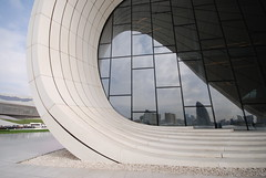 Heydar Aliyev Center by Zaha Hadid, Detail