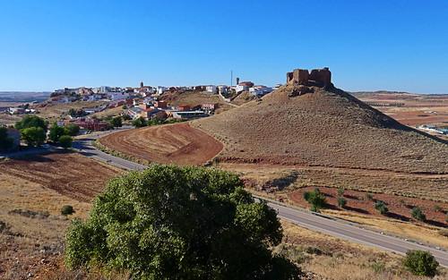 Alhambra con su castillo.