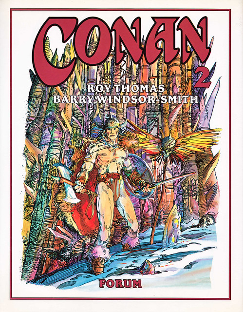 Conan de Roy Thomas y Barry Windsor Smith 02 -01- Portada