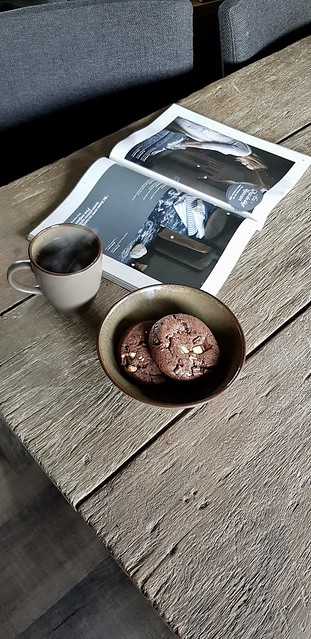 Tafel koekjes woonblad