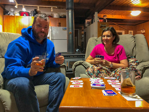Skip-Bo® with Mom