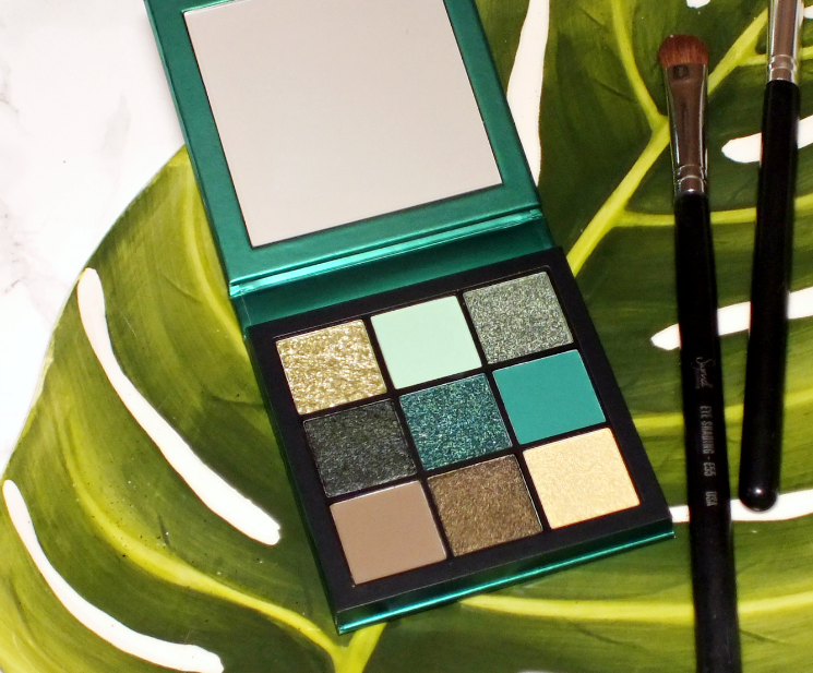 huda beauty emerald obsessions palette (2)